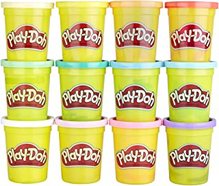 Best Play-Doh Bulk Spring Colors 12-Pack of Non-Toxic Modeling Compound, 4-Ounce Cans Review
