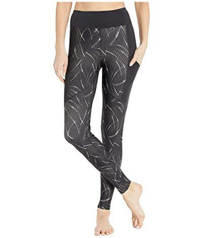 ASICS Core Train Print Tights (Performance Black) Women