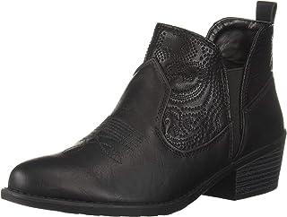 حذاء بكعب عالٍ للسيدات من Easy Street، أسود مزخرف، 8 N US