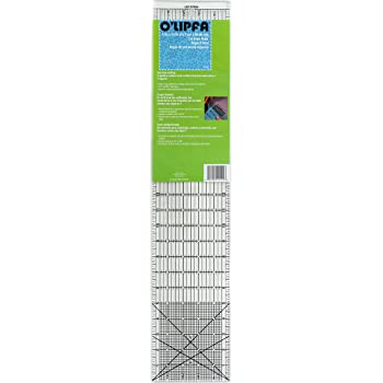 O'Lipfa 11111 Ruler with Lip Edge, 5 x 24-Inch