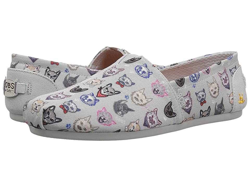 BOBS from SKECHERS Bobs Plush Posh Ca (Gray) Women