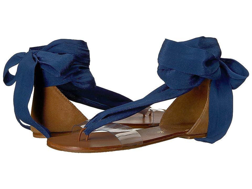 Free People Barcelona Wrap Sandal (Blue) Women
