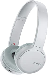Sony WH-CH510 Trådlösa Bluetooth-Hörlurar, En Storlek, Vit