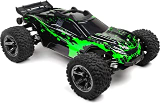 SummitLink Custom Body Muddy Green Over Black Style Compatible for Rustler 4X4 1/10 Scale RC Car or Truck (Truck not Inclu...