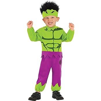 Disfraz de Hulk Marvel para niño: Amazon.es: Ropa y accesorios