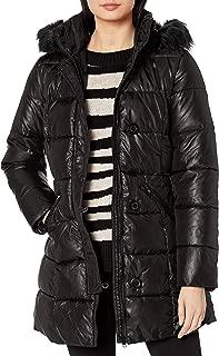 Pink Platinum Women's 31 Zip Front Down Blend Jacket
