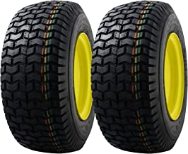 2 PACK MARASTAR 16x6.50-8 Front Tire Assembly Replacement for John Deere Riding Mowers