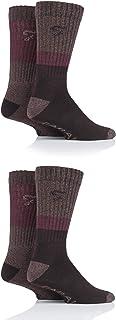 Farah Mens Performance Boot Socks Pack of 4