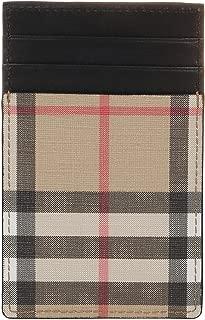 Luxury Fashion | Burberry Mens 8016616 Beige Card Holder | Fall Winter 19