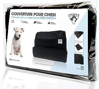 ANITECH Couverture pour Chien pour Housse Imperméable - Lavable en Machine (135x45) / Noir