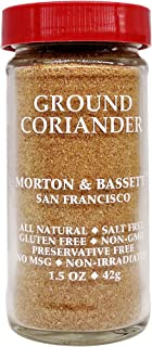 Morton & Bassett Ground Coriander, 1.5-Ounce jar