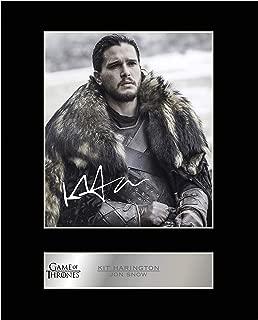 iconic pics Kit Harington Jon Snow Signed Mounted Photo Display Game of Thrones