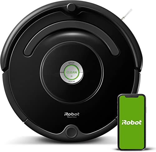 iRobot Roomba 675 Robot Vacuum-Wi-Fi Connectivity, Works with Alexa, Good for Pet Hair, Carpets, Hard Floors, Self-Ch...