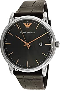 Emporio Armani Casual Watch For Men Analog Leather - AR1996