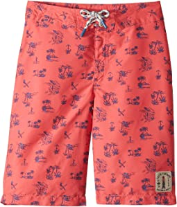 Palm Bear Boardshorts (Big Kids)