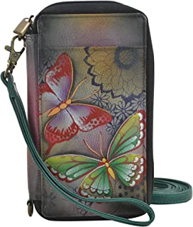 ANNA by Anuschka Hand Painted Smart Phone Case & Wallet