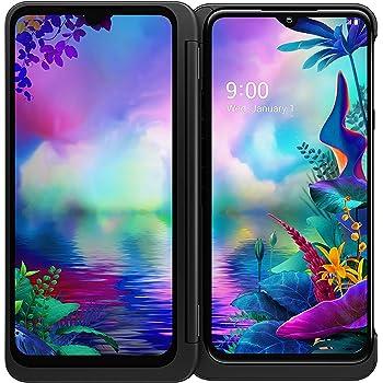 "LG G8X ThinQ Dual Screen Unlocked CDMA GSM Cell Phone - 6.4"" FHD+ OLED Display 2340 x 1080, Snapdragon 855 Octa-core, 6GB RAM 128GB US Warranty (Universal Compatible)"