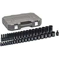 Deals on Gearwrench 39 Pc. 1/2-in Drive 6 Pt. Impact Socket Set