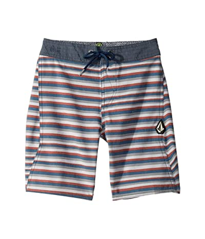 Volcom Kids Aura Boardshorts (Big Kids) (Tidal Blue) Boy