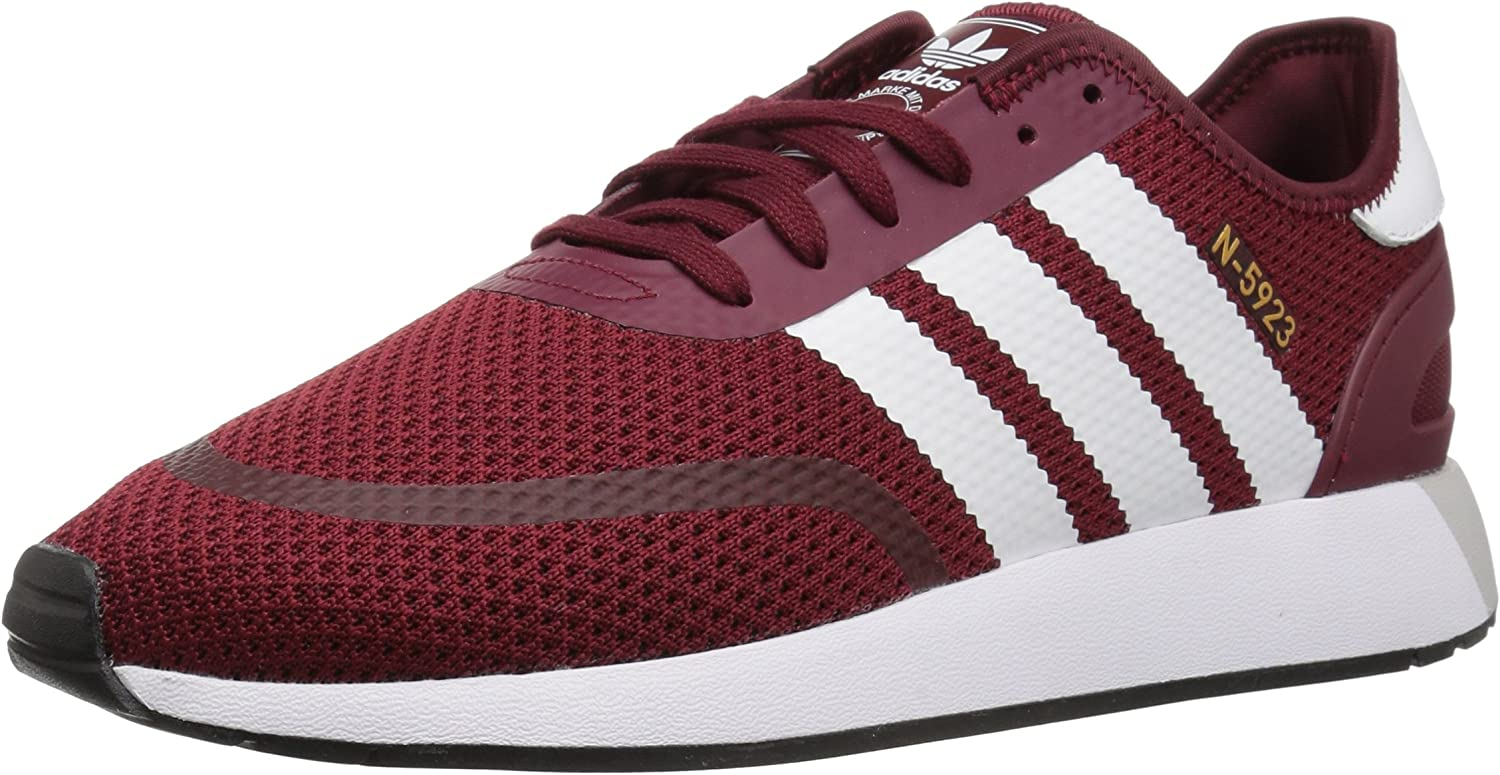 Adidas Originals Men's Iniki Runner CLS Running shoes, Collegiate Burgundy White core Black, 13 M US