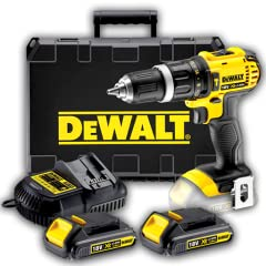 "DEWALT DCK265L 18-Volt Compact Lithium-Ion Drill/Impact Combo Kit DEWALT DWP849X 7-Inch/9-Inch Variable Speed Polisher with Soft Start DEWALT DW715 15-Amp 12-Inch Compound Miter saw DEWALT DW735X 13"" Two-Speed Planer Package DEWALT DCK655X 18-Volt XR..."