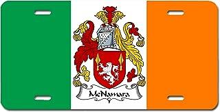 Carpe Diem Designs McNamara Coat of Arms/McNamara Family Crest (Ireland) License/Vanity Plate – Made in The U.S.A.