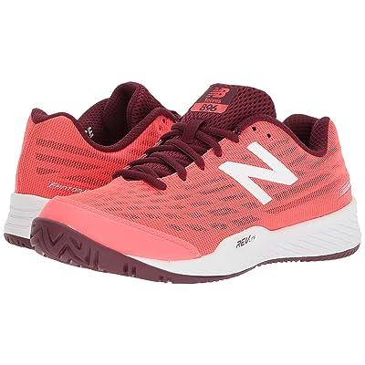 New Balance 896v2 (Vivid Coral/Vivid Coral) Women