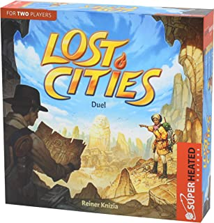 Lost Cities Duel | 2 Players - Card Game | Official Version | English and Arabic Language | Family Game For Ages 10+ | Boa...