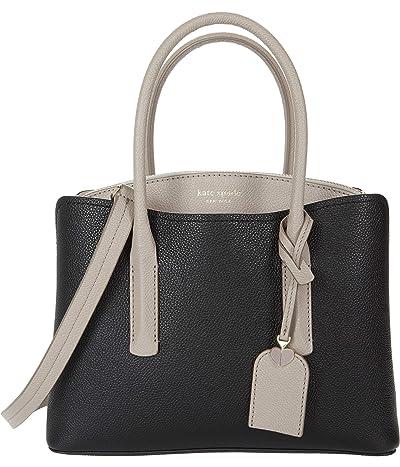 Kate Spade New York Margaux Medium Satchel (Black Multi) Satchel Handbags