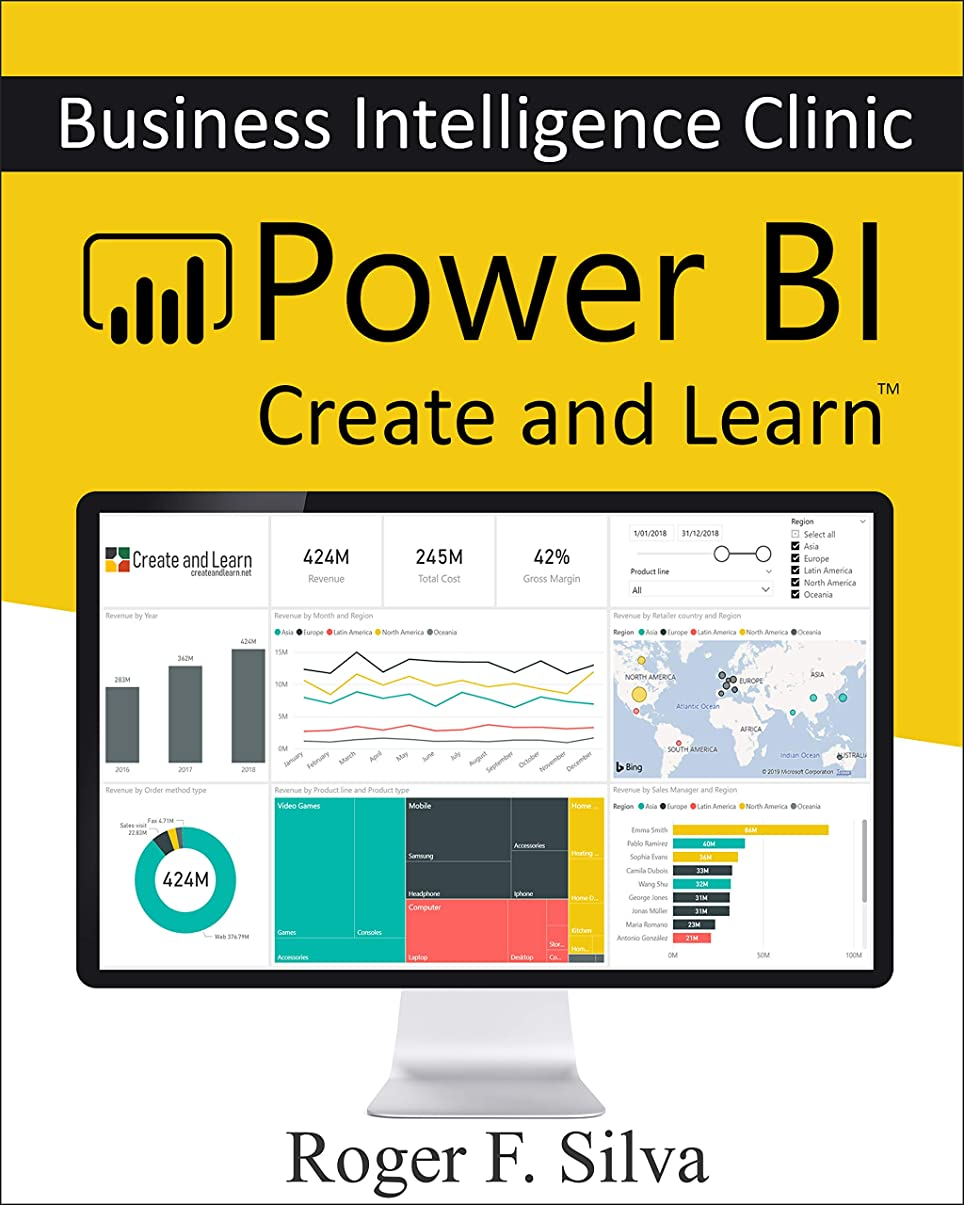 拡張取り消す混乱したPower BI - Business Intelligence Clinic: Create and Learn (English Edition)