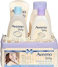 Aveeno Baby Daily Bathtime راه حل های هدیه برای تغذیه پوست برای نوزاد و مامان، 4 مورد