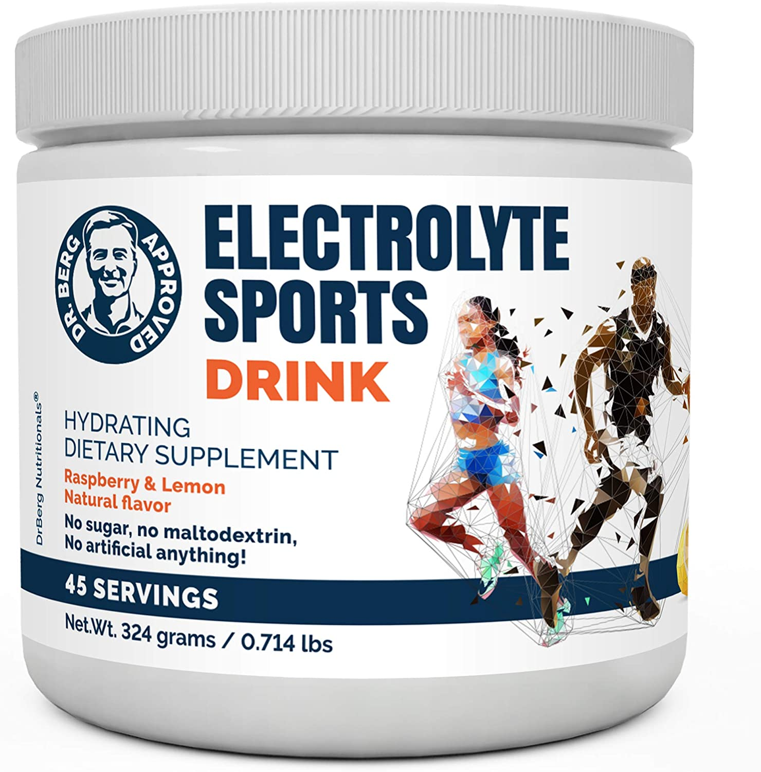 Dr. Berg's Electrolyte Sports Drink Popular standard - High New product Supplement Potassium