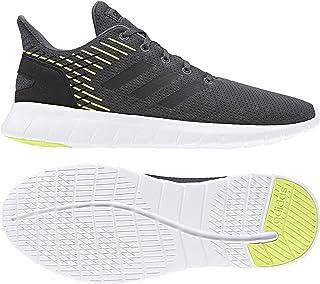 Adidas Asweerun Shoes Men's Running Shoes, Grey (Grey Six/Core Black/Hi-Res Yellow), 8 UK (42 EU),F36994