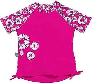 Sun Smarties Babies Toddler Kids UPF 50+ Short Sleeve Rash Guard Sun Swim Shirts