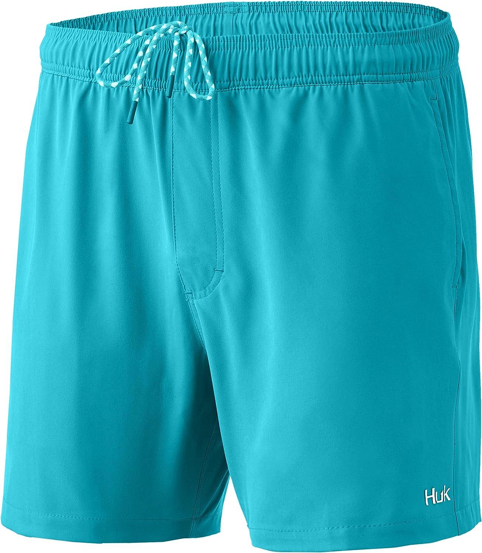 HUK Men's Playa Quick-Drying Fishing Shorts 30 Swimming +UPF Oakland Mall Max 62% OFF