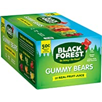 24-Pack Black Forest Gummy Bears Candy, 1.5-Ounce Bag
