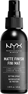 NYX PROFESSIONAL MAKEUP Makeup Setting Spray, Matte Finish, 2.03 Ounce