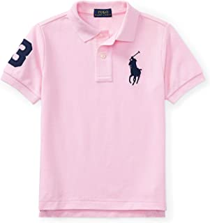 Ralph Lauren Cotton Mesh Polo Shirt - Pink - 5
