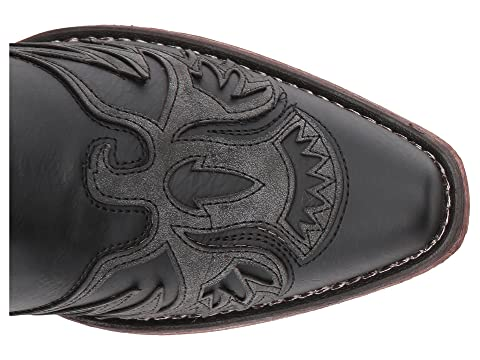 Brown Black Faux Vamp VampFaux Amelia Roper Leather Hx5XOaq