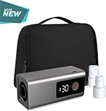 LEEL CPAP Cleaner and Sanitizer, Residual Ozone Smell Eliminating Technology and LED Display, Portable CPAP Sanitizer Bundle with Sanitizing Bag for Mask and Heated Hose Adapters