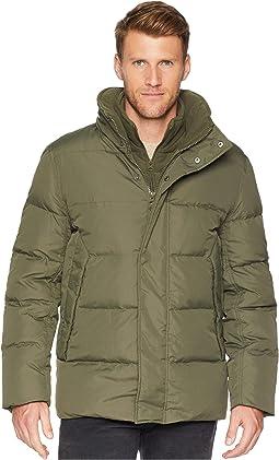 Carlton Mid Length Coat w/ Hidden Hood