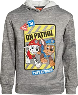 Nickelodeon Boys Paw Patrol Fleece Pullover Character Hoodie (Toddler/Little Kid)