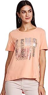 VERO MODA Women's Regular Fit T-Shirt
