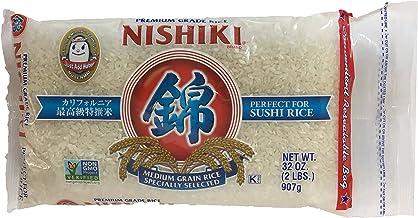 Nishiki Premium Grade Sushi Rice 2lbs Bag (2 Pack)
