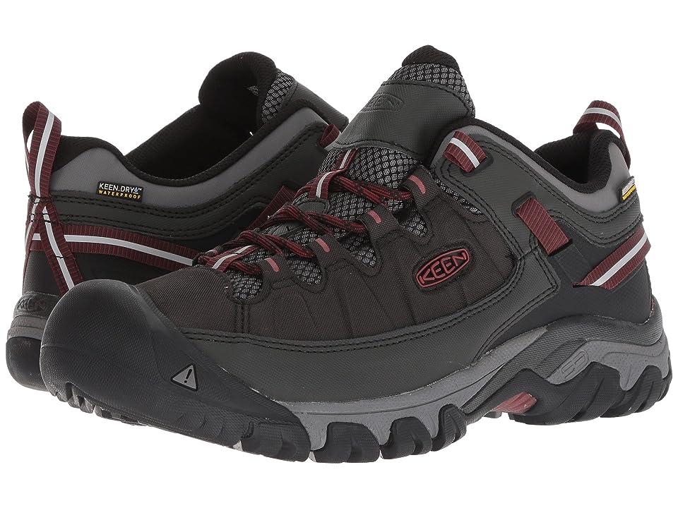 Keen Targhee Exp WP (Raven/Fried Brick) Men's Shoes