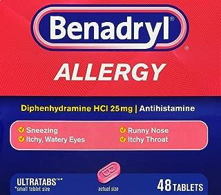 Benadryl Allergy Ultra Tablets, 48 ct