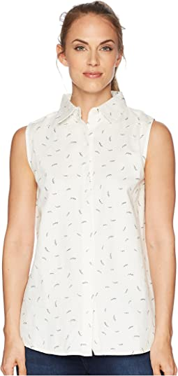 Primrose Sleeveless Button Down