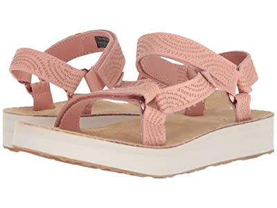 Teva Midform Universal Geometric (Tropical Peach) Women