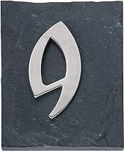 """Esschert huisnummer""""9"""", grijs, HS009"""