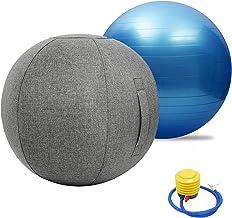 Oefening Bevalling Zwangerschapsbal, Oefenbal voor Yoga Pilates Zwangerschapsvrouwen, Balans Stabiliteitstraining, voor Pi...